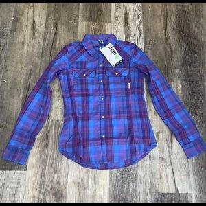 NWT Stio Esther Shirt Flannel Button Down shirt